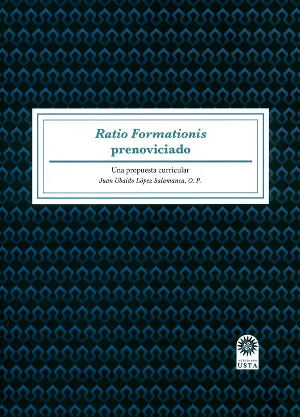 Ratio Formationis prenoviciado. Una propuesta curricular