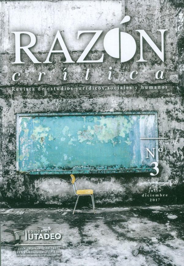 Razón crítica. Revista de estudios jurídicos, sociales y humanos No.3