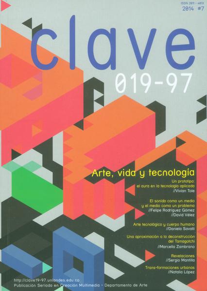 Revista Clave 019-97.  No7. Arte, Vida y tecnología