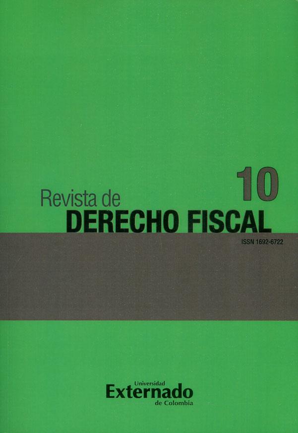 Revista de derecho fiscal No. 10