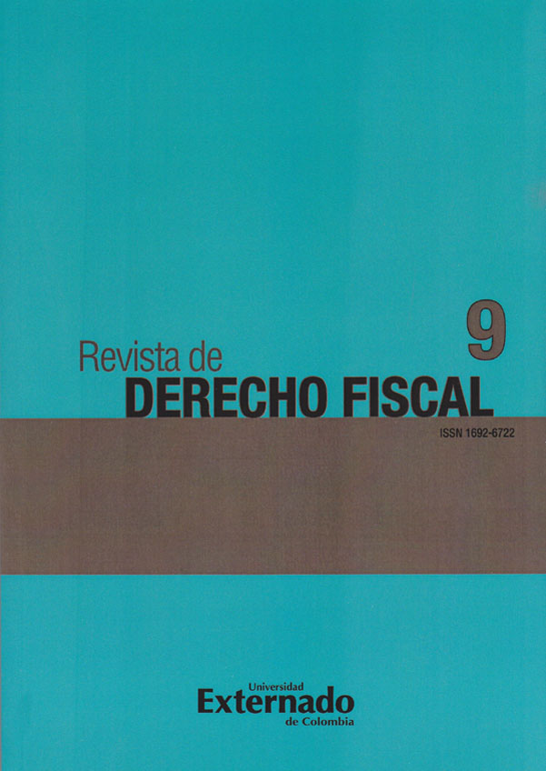 Revista de Derecho Fiscal No. 9