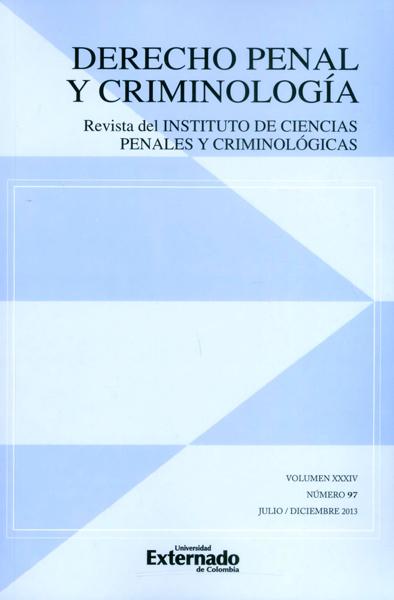 Revista de Derecho penal de criminología No.97  Vol.34
