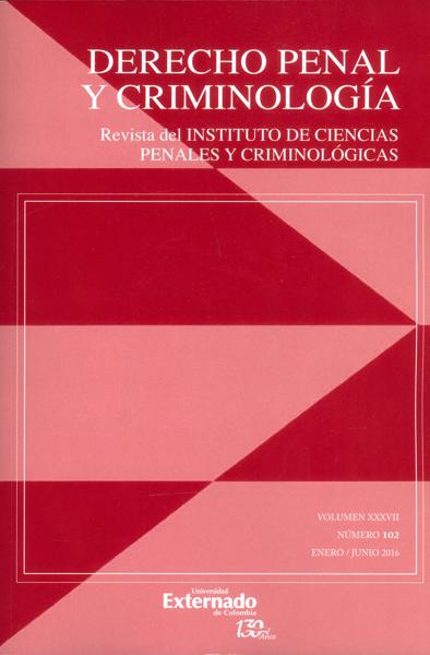 Revista de derecho penal y criminología No.102