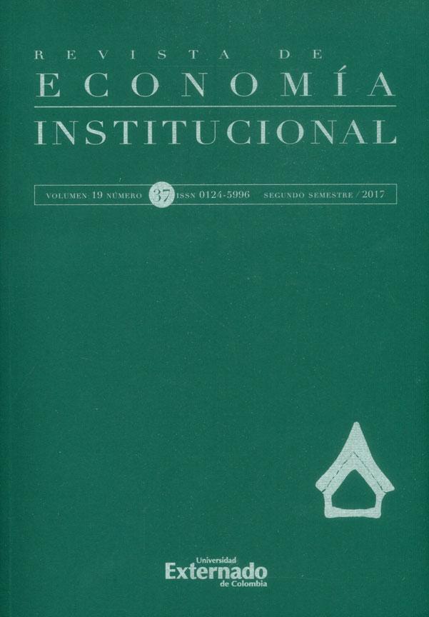 Revista de economía institucional No.37