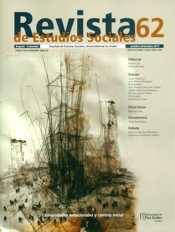 Revista de estudios sociales No.62