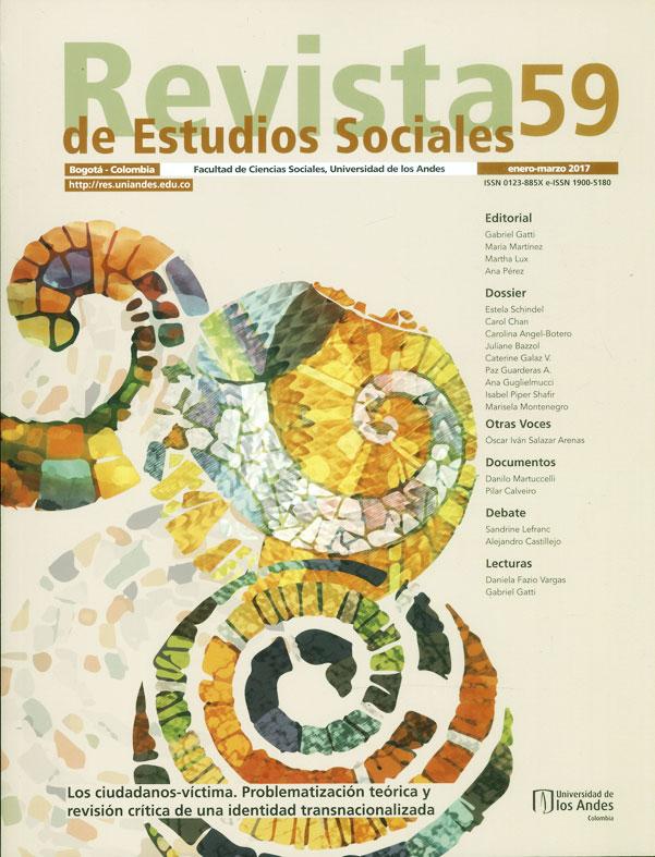 Revista de estudio sociales No.59