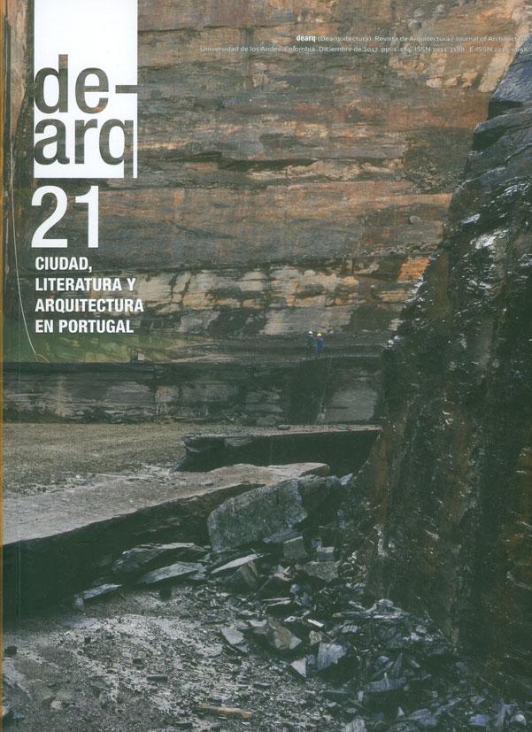 Revista dearquitectura Ciudad, literatura y arquitectura en Portugal No. 21