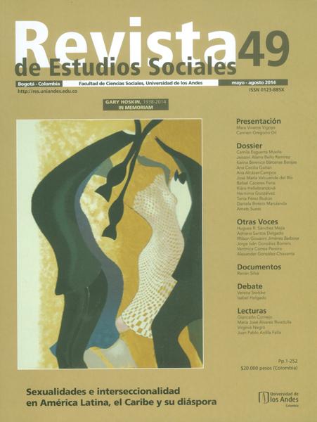 Revista de Estudios Sociales No 49-Sexualidades e interseccionalidad en América Latina, el Caribe y su diáspora