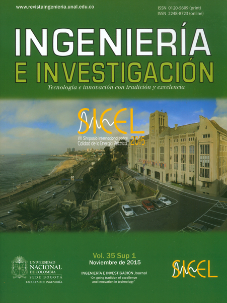Revista ingeniería e investigación Vol.35- Sup.1