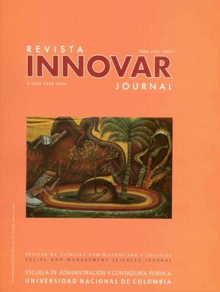 Revista innovar Vol.25 No.62