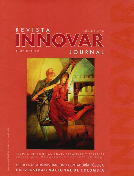 Revista Innovar Vol.26 No.56.Revista de ciencias administrativas y sociales