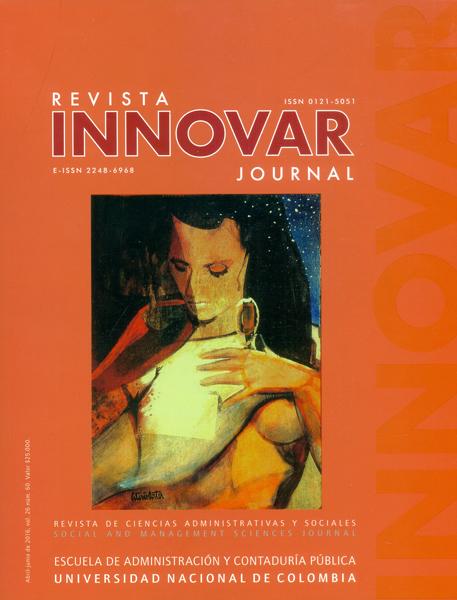 Revista innovar. Revista de ciencias administrativas y sociales Vol 26-No.60