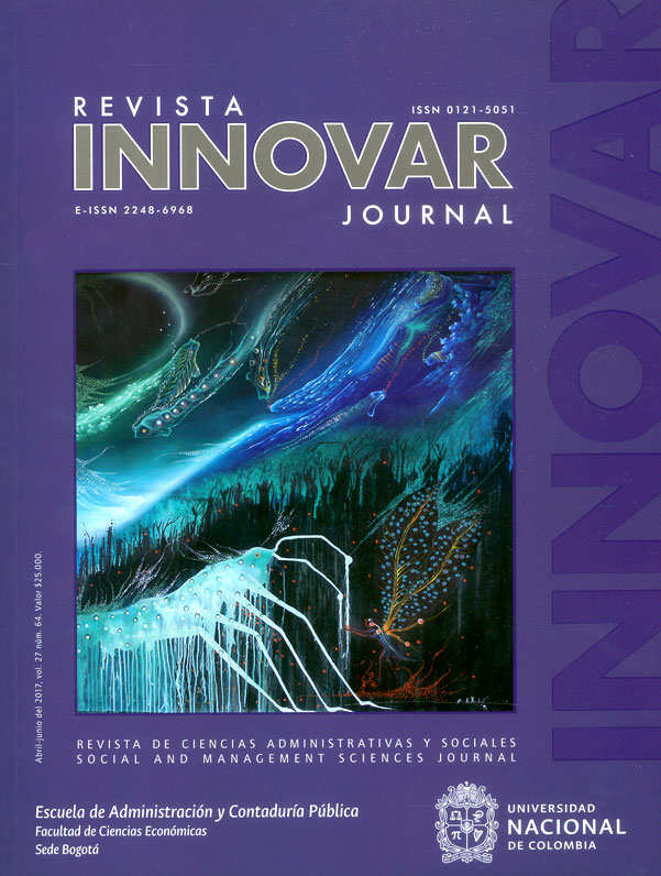 Revista innovar journal Vol.27 No.64