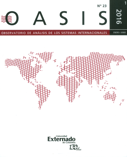 Revista oasis No.23