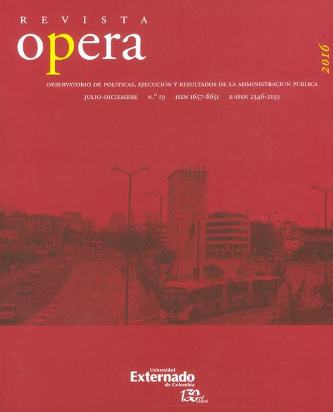 Revista opera No.19