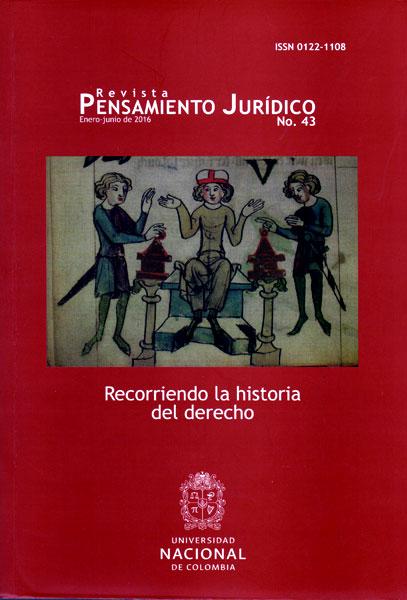Revista pensamiento jurídico No.43