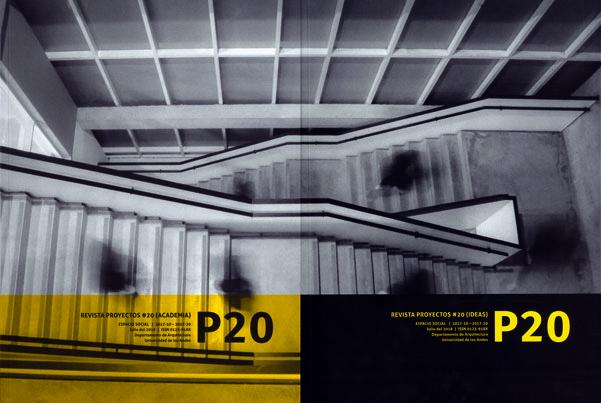 Revista  Proyecto No. 20. Academía/Ideas