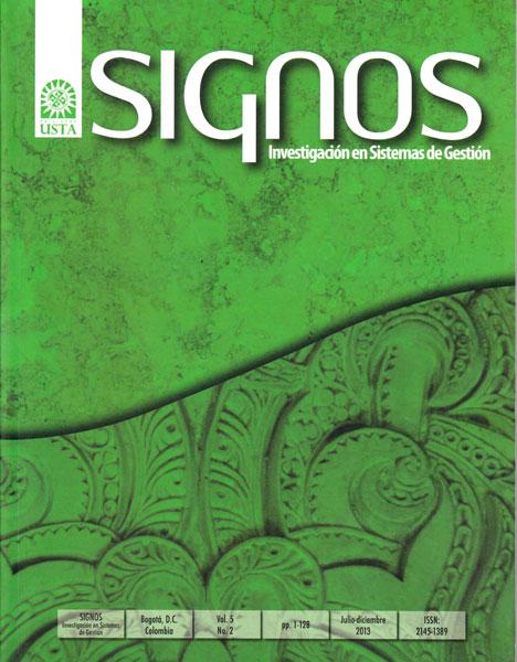 Revista signos Vol. 5 No. 2