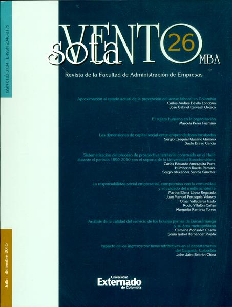 Revista sotavento No.26 MBA