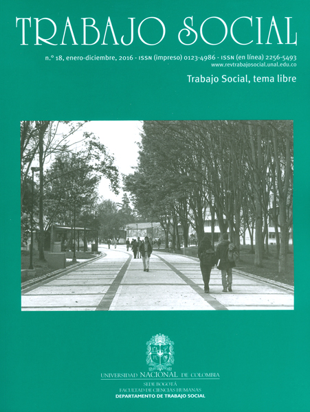 Revista de trabajo social No.18 (Trabajo social, tema libre)