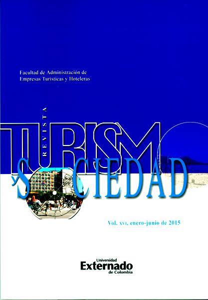 Anuario Turismo y Sociedad. Vol. XVI