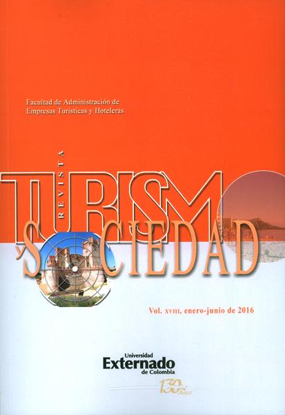 Revista turismo sociedad vol.XVIII
