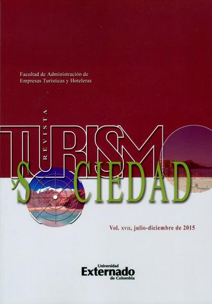 Anuario Turismo y Sociedad. Vol. XVII