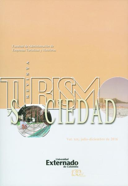Revista turísmo y sociedad Vol.XIX