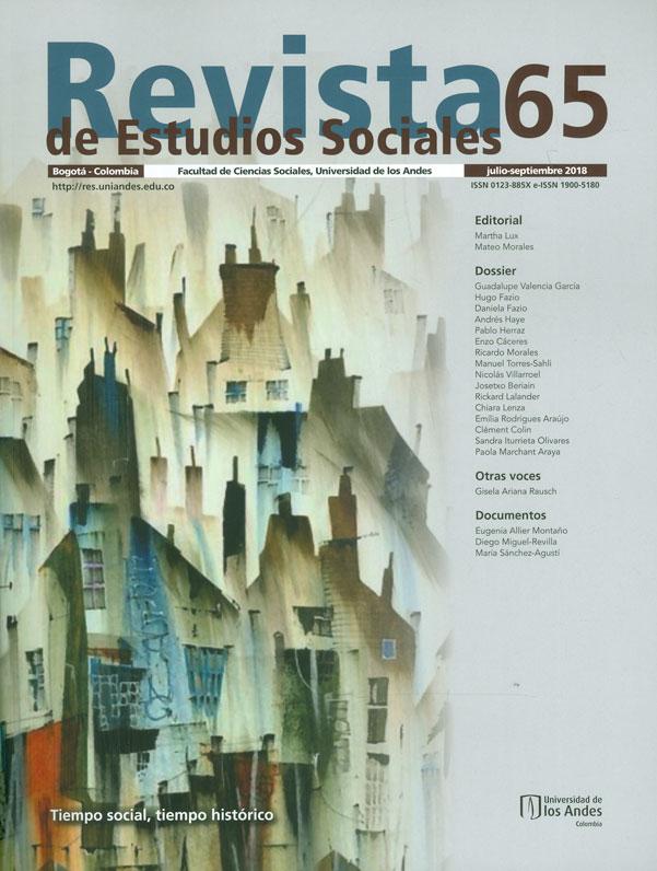 Revista de estudios sociales No. 65