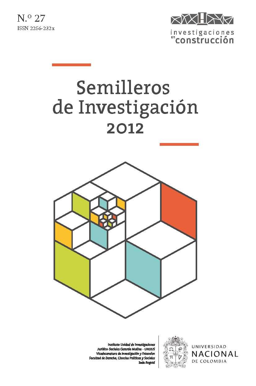 Semilleros de Investigación 2012, n.° 27