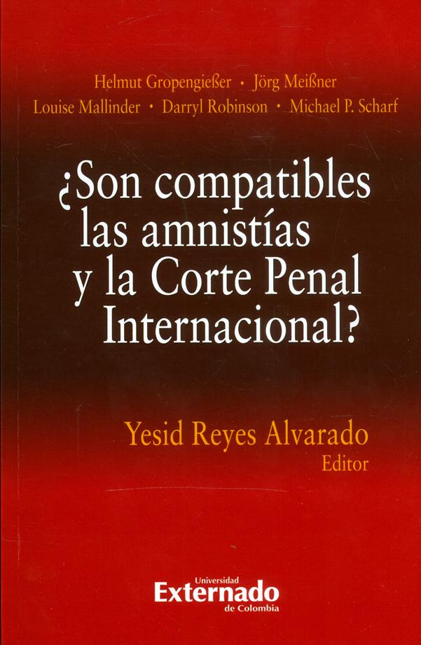 ¿Son compatibles las amnistías y la corte penal internacional?