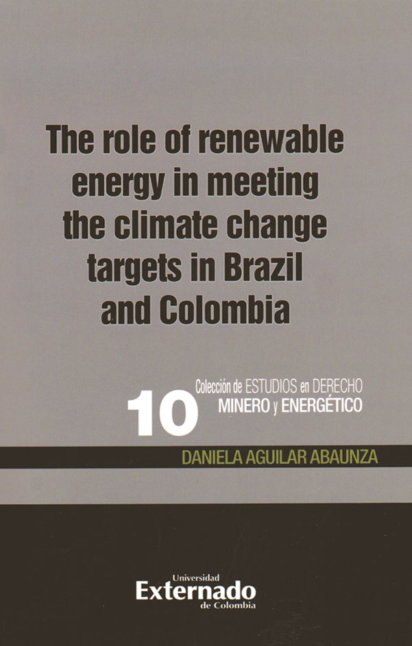 The role of renewable energy in meeting the climate change targets in Brazil and Colombia