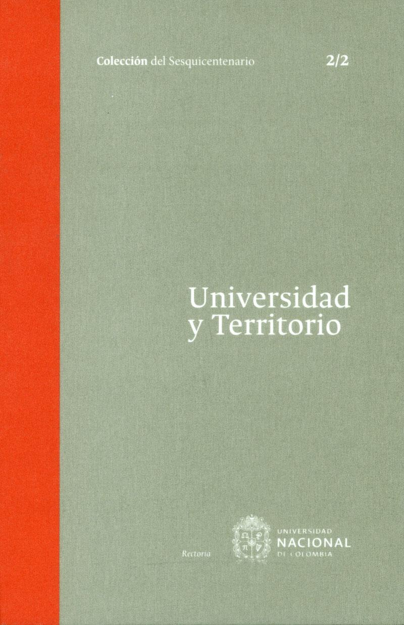 Universidad y territorio Tomo 2. 2/2