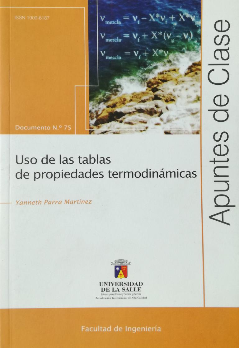 Uso de las tablas de propiedades termodinámicas