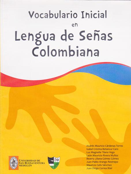 Vocabulario inicial en lengua de señas colombiana
