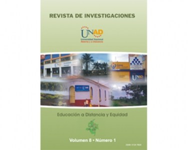 Revista de investigaciones UNAD Vol.8 No.1