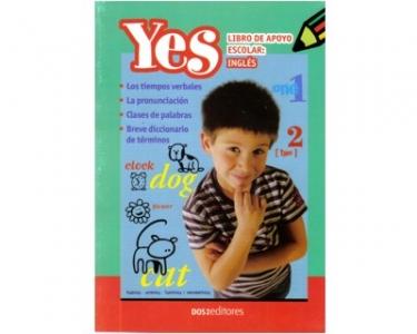 Yes. Libro de apoyo escolar: inglés