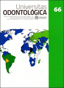 Universitas odontológica Vol. 31 No. 66