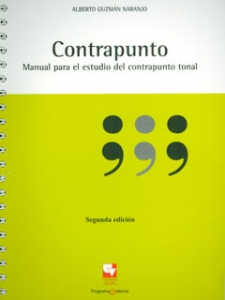 Contrapunto. Manual para el estudio del contrapunto tonal