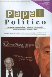 Papel Político Vol. 18 No. 1