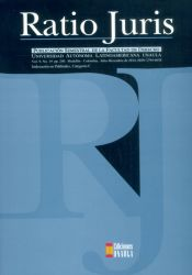 Revista Ratio Juris. Vol. 9. No.19