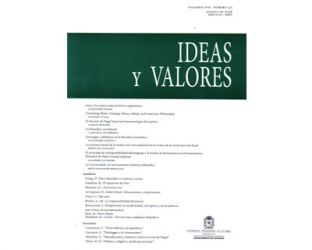 Ideas y Valores. Revista Colombiana de Filosofía. No. 137