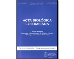 Acta biológica colombiana. Vol. 13 No. 3