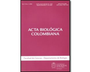 Acta biológica colombiana. Vol. 13 No. 1