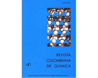Revista colombiana de química. Vol. 36 No. 1