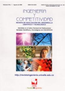 Ingeniería y Competitividad. Vol. 8, No. 1