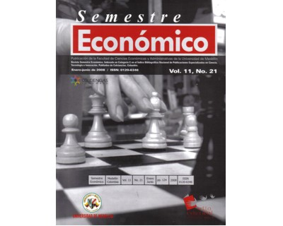 Revista Semestre Económico. No. 21 Vol. 11