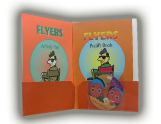 Flyers. Activity packs for young learners. Includes CD
