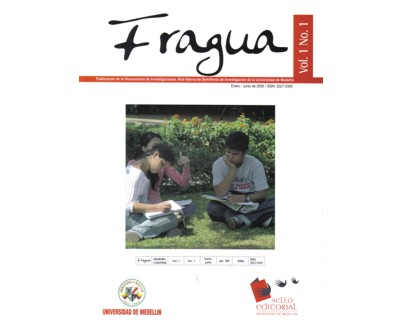 Revista Fragua No. 1 Vol. 1