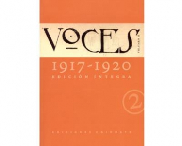 Voces (1917-1920) Vol. 2. Edición Íntegra